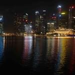 シンガポールと空撮
