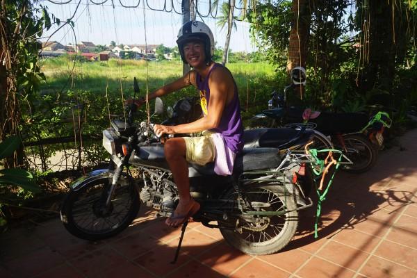 バイクと井口