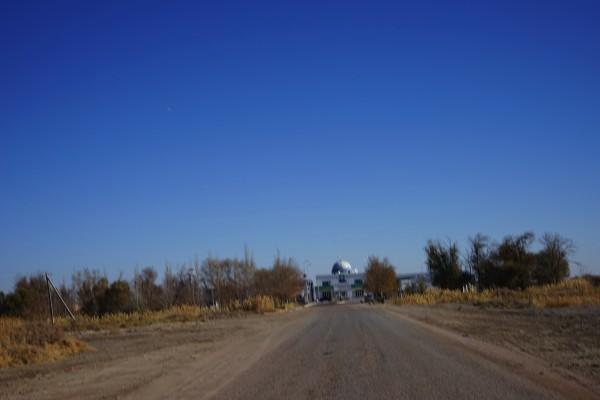 トルクメ国境通過後