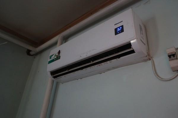暖房あるよ