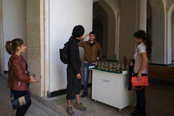 香水売り場