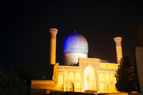 アミール・ティムール廟の夜