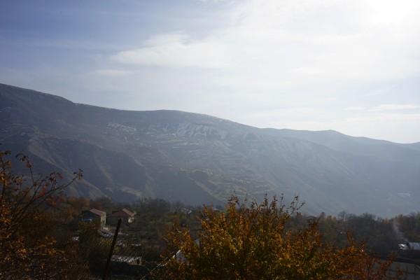 見える山々