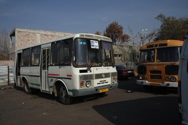 284番のバス