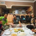 マシュハドでカウチサーフィン2〜イランで中華〜