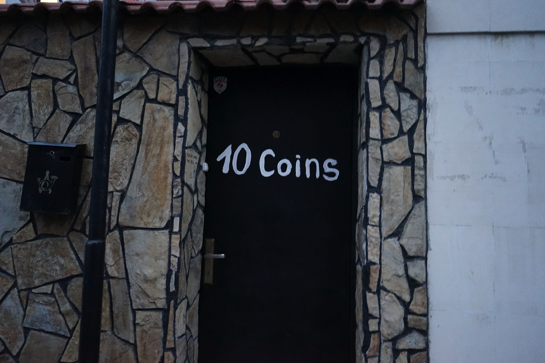 入り口のドア