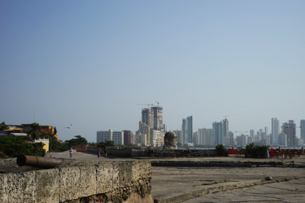 開発が進む街