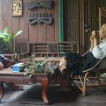 クメール織物復興のために村を作った 森本喜久男さん