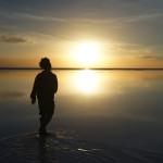 ウユニ塩湖に向かう