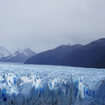ペリト・モレノ氷河。あとFUJI旅館の朝ごはんはヤバい美味いです。