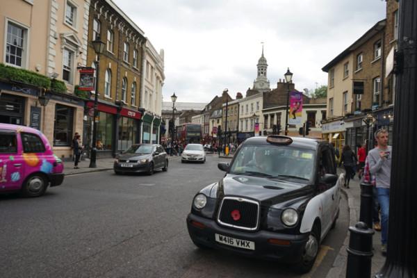 ロンドンとは違った街並み