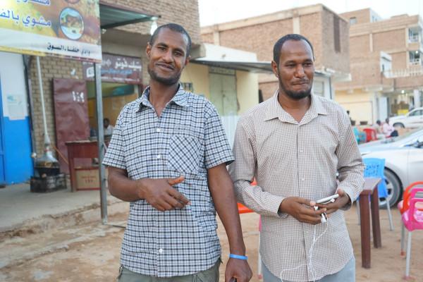 スーダン人の方々