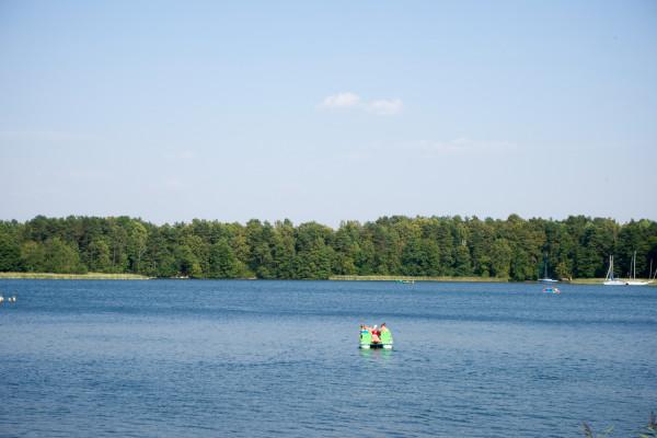 城近くボート