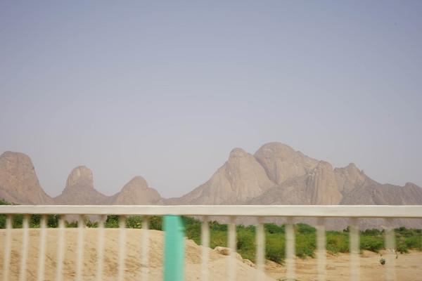 タカ山が見える