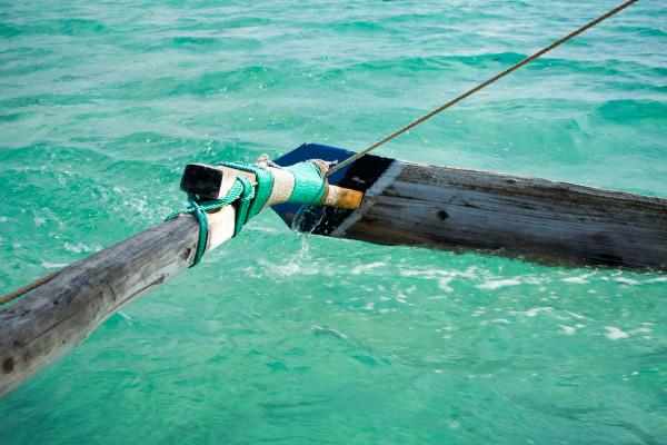 帆を張っただけなのにぐんぐん進む