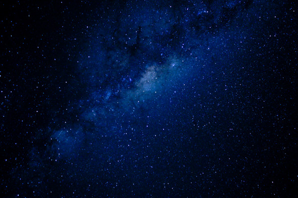 星がキレイでした